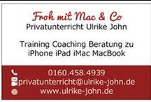 iCoaching: iPad, iMac, iPod, iPhone / Privatunterricht für Mac, iPad, iPhone