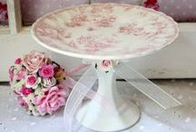 cake plates / by Claire Herman