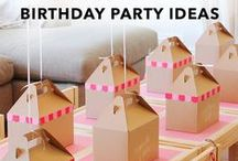 Partytjie Idees / Alle soorte partytjies