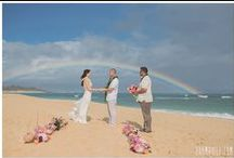 Maui Weddings / These beautiful Maui Weddings were coordinated by Simple Maui Wedding. Here are some great beach wedding inspiration.