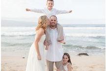 Cute Maui Wedding Portraits / See cute wedding portraits taken from Maui weddings by Simple Maui Wedding.