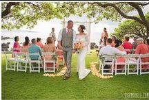 Orange Wedding Inspiration / See orange wedding inspiration by weddings created inspired by the color orange by Simple Maui Wedding!