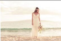 Wedding Dresses Inspiration / Are you looking for some wedding dress inspiration. See real brides in their gorgeous wedding dresses perfect for beach or venue weddings.