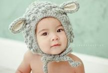 Adorable Children's Hats / #knitchildrenshats #childrenscrochethats #animalhats #knitanimalhats #cutechildrenshats #babyhats  / by Nicole F. Cox