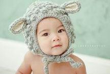 Adorable Children's Hats / #knitchildrenshats #childrenscrochethats #animalhats #knitanimalhats #cutechildrenshats #babyhats