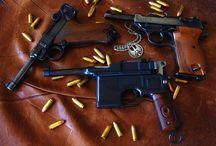 WWI & WWII Pistols & Revolvers / Pistols of WWI & WWII / by Diurán Ó Catháin