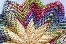 Stitches: Knitting & Crochet / #knittingstitches #Crochetstitches #howtoknit #howtocrochet