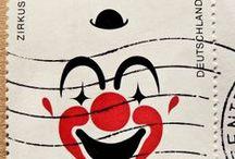 * Harlekin - Clowns / Harlekin - Clowns - Jokers / by * Lichtblick *