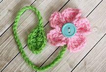 Flowers:Knit & Crochet