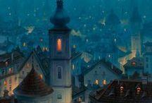 Concept art - Cityscapes