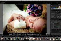 Photoshop and Lightroom!