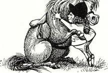 Thelwell ponies / Min barndoms favoritserie