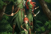 Elves of Middle Earth / Legolas, Tauriel, Thranduil, Elrond, Galadriel, Celeborn....
