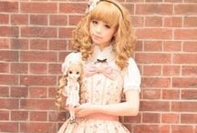 My style / Lolita,  fairy kei and little bit decora. This is my style.