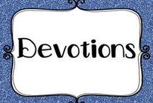 Education - Devotions / Classroom devotional ideas to inspire and settle your students.