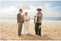 Rain at Beach Weddings / Rarely a rain shower will come in during a Maui wedding. When it does, Simple Maui Wedding will keep things fun and Karma Hill Photography will capture stunning photos