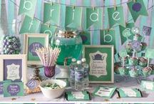 Bridal Shower / Bridal shower party ideas, planning tips and decoration ideas (including Disney inspired ideas)
