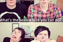 Youtubers:3 / Basically Dan, Phil, Pewds and Marzia