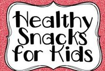 Healthy snacks for kids / Healthy snack the little people in your life are going to LOVE!!