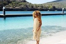 Beach Dresses / Beautiful summer dresses that you can wear all day. From maxi dresses to cover ups | www.mybikinimusthaves.com