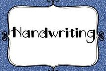 Education - Handwriting / Handwriting education - ideas and inspiration for every classroom.