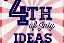 4th of July & Summer / 4th of July & Summer: decor, DIY, crafts, activities, fun, treats, recipes, desserts, parties, gifts, games, ideas, tips, beach, swimming, boating | Fourth of July, Independence Day