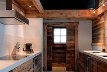Kitchens / Kitchens we love ;) #kitchen #cucina #chalet