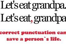 Grammar & Puncuation / Correct grammar, correct punctuation, grammar police, grammar funny/humor, common grammar goofs, common punctuation mistakes, writing