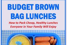 Brown Bag Lunch Ideas/Recipes / Brown Bag Lunches on a Budget, Brown Bag Lunch Ideas & Recipes, Fast & Healthy Work Lunches, Cheap School Lunches for Kids, Quick Packed Lunches To Go, Vegetarian Brown Bag Lunch Ideas, and Teacher Lunches