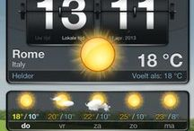 Travels & Temperatures / I love sunny days! But that's not always the case :-)