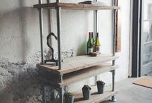 Shelving / https://www.etsy.com/uk/shop/ReviveJoinery?section_id=13580507