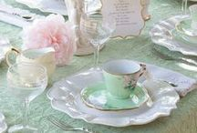 Vignettes, tablescapes, party decorations