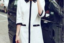 Little white / black dress - mała biała, mała czarna
