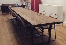 Commercial / Commercial reclaimed wood shop, office and bar fittings by Revive Joinery.