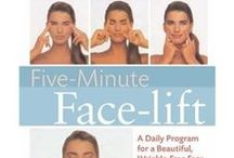 Facial Exercises / Facial Exercises - minimize wrinkles, puffy eyes, double chin, and saggy jowls. No need for toxic chemicals/Botox or a face lift/surgery. Fight the aging process - heal, strengthen and firm the facial muscles and skin through facial exercises, yoga, and massage.