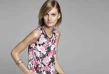Sophisticated Summer / For Summer 2014 Jones New York take its cues from iconic American destinations— from Southampton to Newport to Palm Beach. Graphic, preppy stripes and spectator looks, ginghams, dots and bold florals all evoke memories of your favorite summer— whether you are in the city or at the beach, at work or at play.