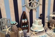 Nautical & Sailing Party / Nautical themed party decor, food, treats, drink and more