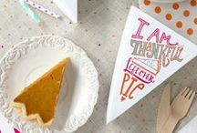 Thanksgiving / Thanksgiving: Holiday event ideas, food, drinks, treats and other inspiration