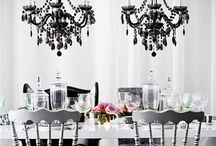 Black & White Party / Black and white party ideas, decor, food & other event inspiration