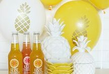 Hawaiian Party / Party supplies, decor and inspiration for an aloha, Hawaiian inspired event
