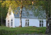 Dom w bieli - White cottage