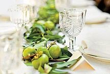 Tablescapes / Beautiful table scapes for any kind of party or event.