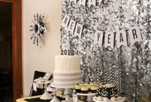 New Years! / New Years Eve party decor and inspiration by Sendomatic Online Invitations!
