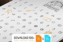Free Icons / free PSD,AI,EPS,PDF,etc... icons