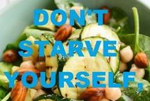 H e a l t h y  stuff / Don´t starve yourself, just eat healthy!
