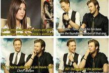 Tom Hiddleston and Loki