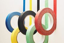 Olympic Party / Olympics party decor and inspiration by Sendomatic Online Invitations!