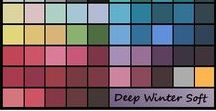 Deep Winter Soft / Neutral-Cool Soft Winter