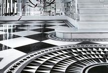 FLOORS / THEY DO NOT HAVE TO BE BORING! / by Leslie Boroff