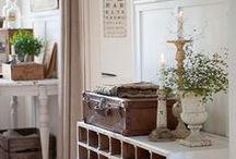 Interiors - Mori Girl Places / shabby chic bohemian vintage romantic spaces fairy tales inspirations